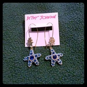 Betsey Johnson Starfish Earrings